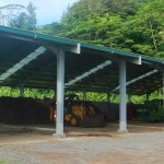Hangar de compostage de Taputapuatea